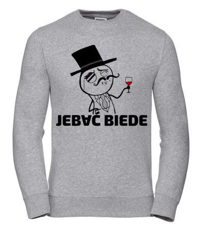 bluza-szara-Jebać-Biede