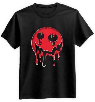 Krwista-Emotka-czarna-koszulka-meska