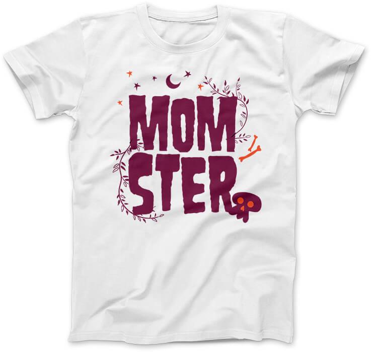 MomSter-koszulka-biala