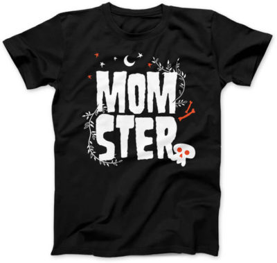 MomSter-koszulka-czarna