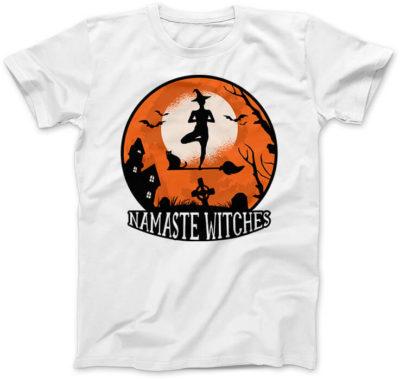 Namaste-Witches-biala-koszulka