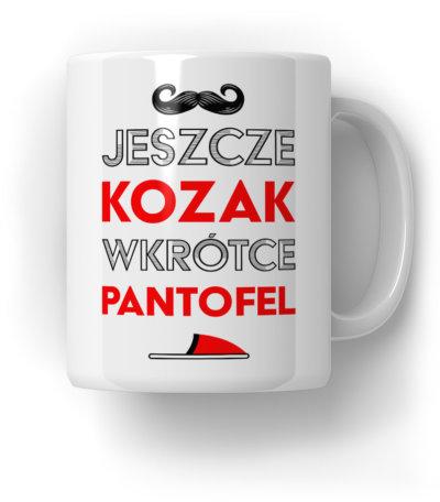 Jeszcze-Kozak,-Wkrótce-Pantofel-Kubek-Prezent