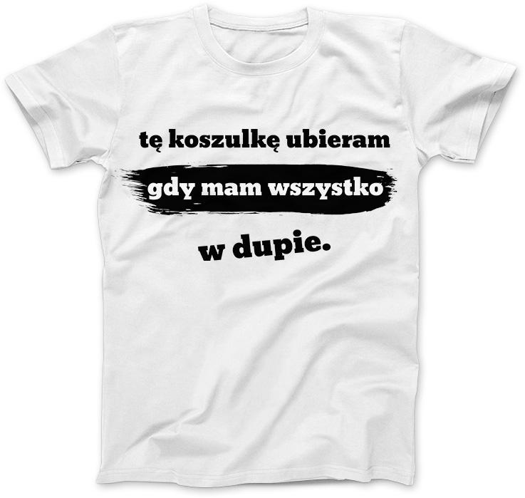 Tę koszulkę ubieram